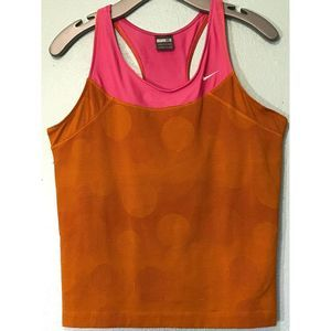 Nike Activewear Top XL(16) Athletic Running Yoga